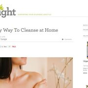 An Easy Way To Cleanse at Home article image