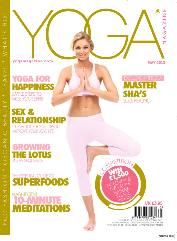 Yoga Magazine May 2013