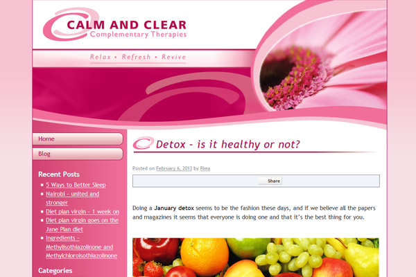 Detox – is it healthy or not? – www.calmandclear.co.uk