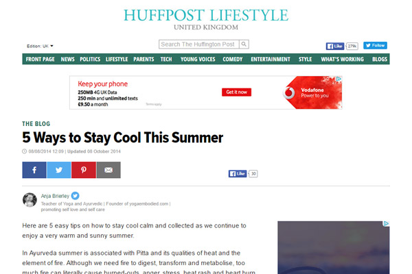 5 Ways to Stay Cool This Summer Article Image