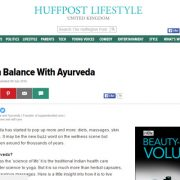 Living in Balance With Ayurveda Article image